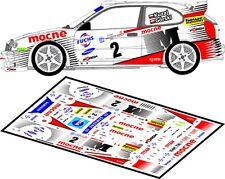 DECALS 1/43 TOYOTA COROLLA WRC - #2 - KUZAJ - RALLYE WARSZAWSKI 2001 - D43122