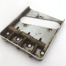 Aged tele Bridge Brass saddles FITS to Telecaster ®