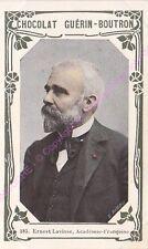 Chromo CHOCOLAT GUéRIN BOUTRON Ernest Lavisse n 283 /500