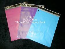 20 Poly Bag Mailer 3 Color Variety Pack 10x13 Self Sealing Shipping Envelopes