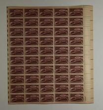 US SCOTT 1104 PANE OF 50 BRUSSELS STAMPS 3 CENT FACE MNH