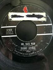 """Johnny Cymbal - Mr. Bass Man/ Sacred Lovers Vow  - 7"""" Vinyl 45 RPM"""