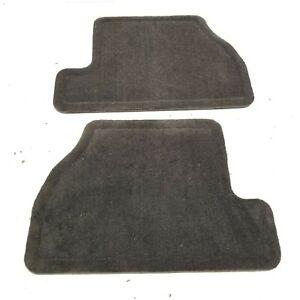 2012-2018 FORD FOCUS RS INTERIOR REAR BLACK CLOTH FLOOR MAT CARPET PAIR SET OEM