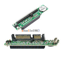 """7+15 Pin M/F SATA TO 2.5"""" Male Female 44Pin IDE Adapter Converter For Laptop"""