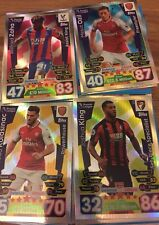 Match Attax 17/18 -All 453 Cards including All 11 x 100 Clubs