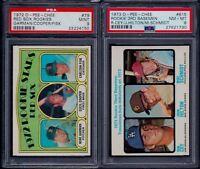 PSA 9 1972 OPC O-pee-chee by Topps #79 Carlton Fisk Boston Red Sox HOF LOW POP 9