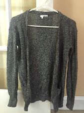 Juniors Abound Black Cardigan Sweater In Size xS