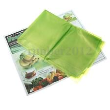 20 pcs Storage Vegetable Fruit Produce Green fresh Bags Reusable Life Extender