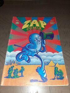 ZAP COMIX #4 2nd Print Apex Novelties  Crumb Wilson Williams Shelton