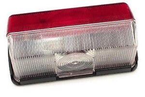 CARAVAN / MOTORHOME - Side Marker Light – Red/Clear Lense + Bulb – JOKON EL54B