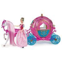 Bambola Principessa Ceneretola con Carrozza e Cavallo Princess Grandi Giochi