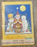 Mary Engelbreit Lined Journal Christmas Santa and the Snowboys 80 Sheets