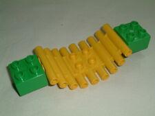 Lego Duplo Log Swinging Bridge.