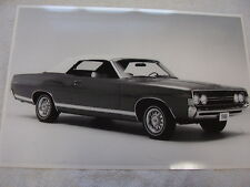 1968 FORD FAIRLANE GT  CONVERTIBLE  12 X 18  PHOTO  PICTURE