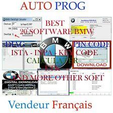20 SOFT BMW(ISTA RHEINGOLD  ISTA D ISTA P 09-2019 & DIS.ETK.KDS.ECU EDITOR & MOR