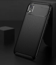 Case for iPhone Carbon Fibre Soft Cover TPU Silicone Slim 11 X XR Max 8 7 6 Plus