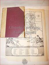 Casanova, Storia Legge BONIFICA INTEGRALE 1929 Carta PALUDI PONTINE COMACCHIO