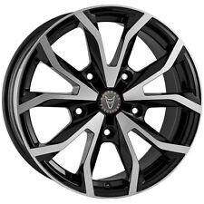 "ONE    18"" WOLFRACE ASSASSIN TRS ALLOY WHEEL  FOR FORD TRANSIT BLACK + POLISHED"