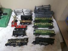 Vintage Toy Train Lot Lionel Marx Toy Company 1940's