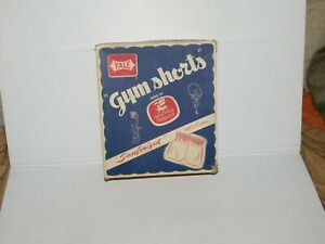VINTAGE NEW OLD STOCK 1950-60S WEST POINT PEPPERELL WHITE GYM SHORTS SZ 38 & BOX