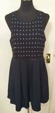 Dotti  BLUE DRESS  size12  beaded with net underskirt.  Party. Prom. Special occ