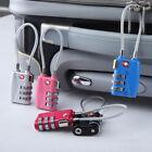 TSA 3 Digit Combination Lock Travel Luggage Suitcase Lock Padlock Resettable Hot