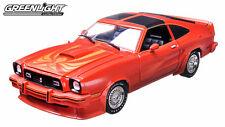 12879 Greenlight 1978 Ford Mustang II King Cobra 1:18 Scala Nuovo & Inscatolato