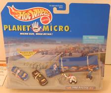 Hot Wheels Planet Micro Pro Racing Pontiac Grand Prix Ford Truck Transport