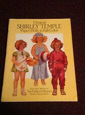Shirley Temple Paper Doll Cut-Out Book