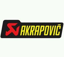 Pegatina Adhesivo AKRAPOVIC 12 cms Sticker Aufkleber Autocollant