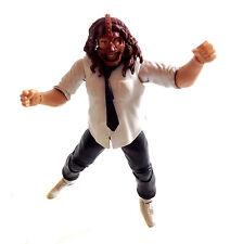 "WWF WWE TNA WRESTLING MANKIND MICK FOLEY 6"" Mattel Elite Figura RARA"