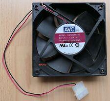 Lüfter Cooler Fan PC 12V DC / 0,20A DS12025R12E 120mm - 120x120x25 - 4pin Molex