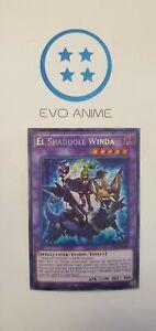 El Shaddoll Winda SHVA-EN049 Secret rare Yugioh 1st Edition NM