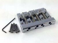 Genuine Fender BadAss Style High Mass 4 String Bass Guitar Bridge 099-4407-000