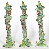 "Kunst Skulptur ""Zwerg"" 20 cm Unikat Andreas Loeschner-Gornau"