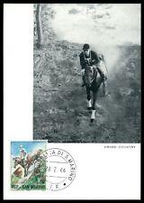 SAN MARINO MK 1966 REITEN REITSPORT PFERD PFERDE HORSE MAXIMUM CARD MC CM am37
