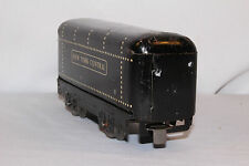 1940's Marx New York Central Tender, White Rivets and Lettering, Original