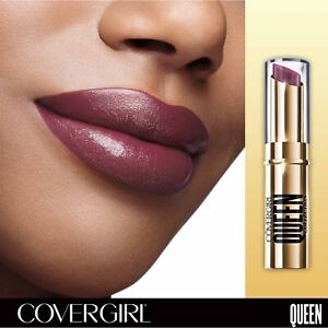 Lot of 2 CoverGirl Queen Collection Stay Luscious Lipstick .12 oz Q720 Duchess