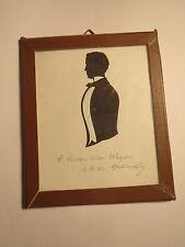 Heidelberg - 1852  Student H. Liman aus Charlottenburg - Schattenriss Silhouette