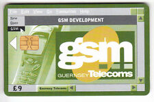EUROPE  TELECARTE / PHONECARD .. ILE GUERNESEY  9£ TELECOM GSM CHIP/PUCE
