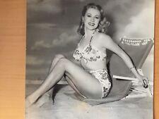 LARGE BACKSTAMPED RARE RKO RADIO HOLLYWOOD ACTRESS: Anne Jeffreys Vintage Photo
