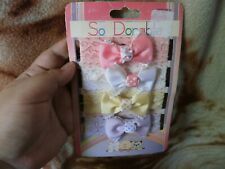 CLOSEOUT SALE! Imported From USA! So Dorable 4 Pcs Headwrap #3
