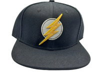 DC Comics The Flash Black Snapback Hat