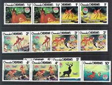 Grenada Grenadines-1980 Christmas issue  set to 10c-- pairs--mint