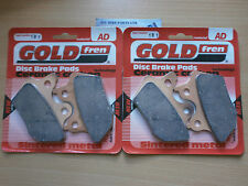 HARLEY FXDX SUPER GLIDE SPORT  #  GOLDFREN FRONT BRAKE PADS (2x Pair) *SINTERED*