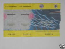 SAMPDORIA - MESSINA TICKET BIGLIETTO 2001/02 SERIE  A