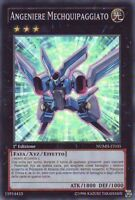 YU-GI-OH! ANGENIERE MECHQUIPAGGIATO NUMH-IT035 SUPER RARA YUGIOH ITALIANO