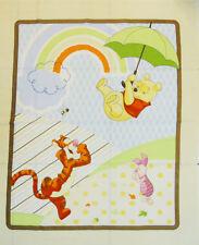 Disney Pooh Umbrella Friends Quilt Panel by Springs Creative LAST PANEL DAMAGED