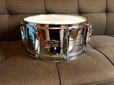 Yamaha SD565MA snare drum 14x6.5 chrome Vintage