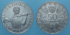 AUSTRIA 50 SCHILLING 1967 PROOF